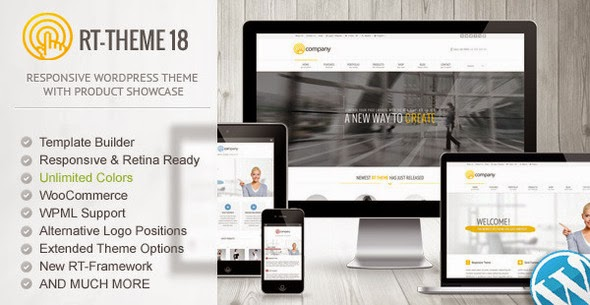 RT-Theme 18 v1.9.9.4 - Responsive WordPress Theme
