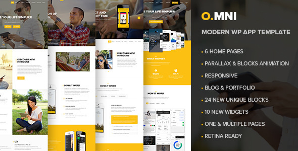 Download free omni v1. 2. 5 – powerful one and multipage app wp.