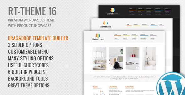 RT-Theme 16 v2.5.4 - Corporate WordPress Theme