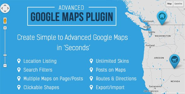 Advanced Google Maps Plugin for WordPress v3.4.5 | CodeCanyon on map ireland, map berlin, map mobile, map sydney, map edinburgh, map central, map victoria, map france, map amsterdam, map singapore, map valencia, map tokyo, map nashville, map venice, map taipei, map columbus, map bangkok, map buenos aires, map austin, map spain,