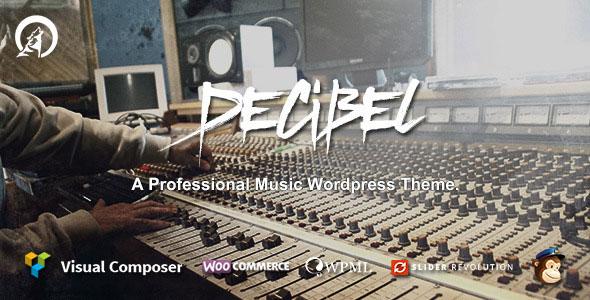 Decibel - Professional Music WordPress Theme v2.3.8