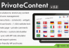 PrivateContent – Multilevel Content Plugin v5.22
