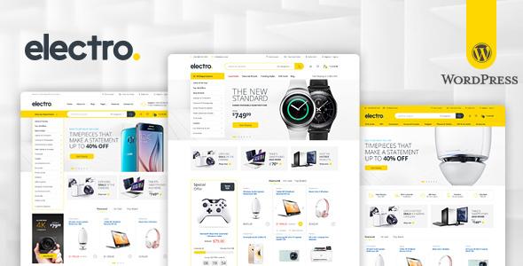 Electro v2.0.9 - Electronics Store WooCommerce Theme