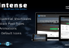 Intense - Shortcodes and Site Builder for WordPress v2.8.2