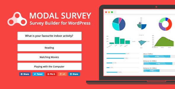 Modal Survey - WP Feedbacks & Polls Plugin v1.9.9.1