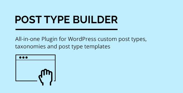 Post Type Builder - WordPress Custom Post Types v1.4.8