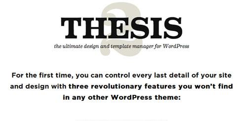 download thesis theme wordpress free