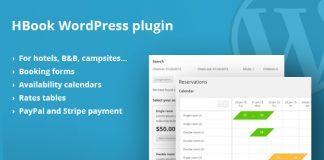 HBook v1.8.5 - Hotel booking system - WordPress Plugin