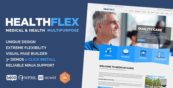 HEALTHFLEX v1.5.8 - Medical Health WordPress Theme