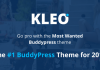 KLEO v4.2.8 - Pro Community Focussed, Multipurpose BuddyPress Theme