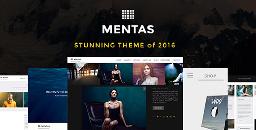 Mentas - Creative Portfolio for Freelancer or Agency v2.2.8