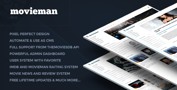 Movieman v0 1 - Premium Movies, TV Shows & News CMS