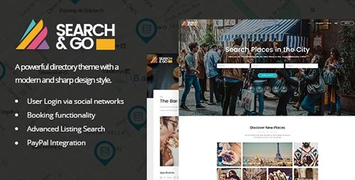 Search & Go - Modern & Smart Directory Theme v2.1
