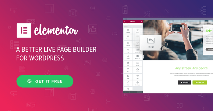 Elementor Pro v2.2.1 – Drag & Drop Live Page Builder For WordPress