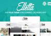 Elletta v1.7 – WordPress Blog News, Calendar & Shop Theme
