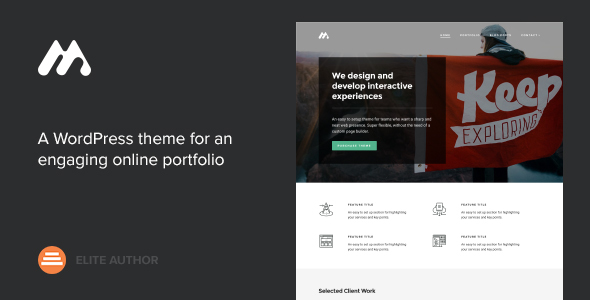 Meth v2.1.0 - A Minimal One Page Portfolio Theme