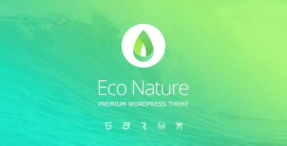 Eco Nature v1.4.1 - Environment & Ecology WordPress Theme