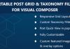 Visual Composer - Sortable Grid & Taxonomy filter v2.2.0