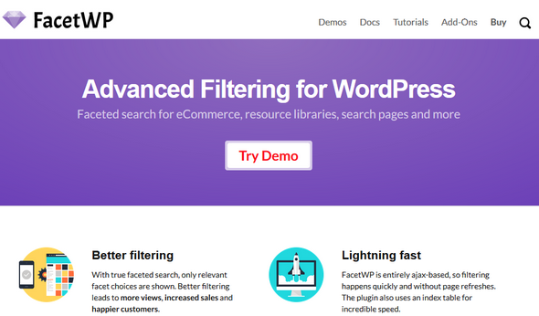 FacetWP v3.2.0 - Advanced Filtering Plugin for WordPress
