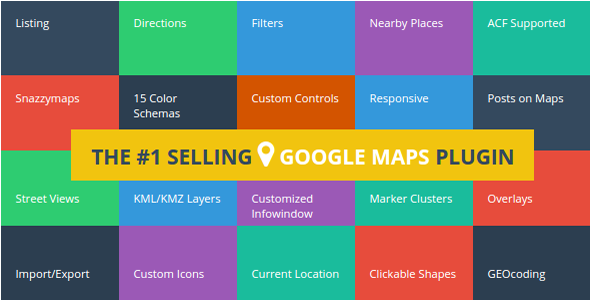 Advanced Google Maps Plugin for WordPress v4 0 1