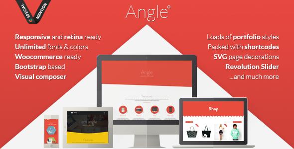 Angle v1.18.8 - Flat Responsive Bootstrap MultiPurpose Theme