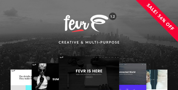 Fevr v1.2.9.3 - Creative MultiPurpose Theme