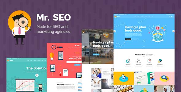 Mr. SEO v1.5 - A Friendly SEO, Marketing Agency, and Social Media Theme