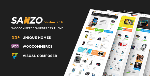 Sanzo v1.2.2 - Responsive WooCommerce WordPress Theme