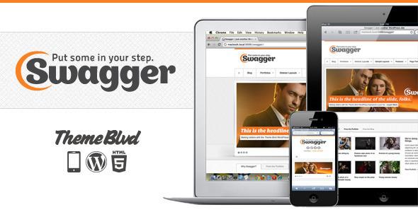 Swagger v2.1.17 - Responsive WordPress Theme