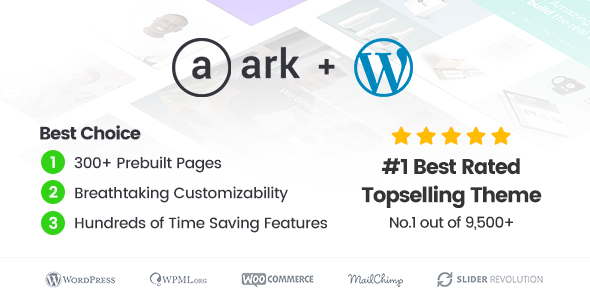 The Ark v1.29.0 - Next Generation WordPress Theme