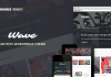 Wave v10.0 - WordPress Theme for Artists