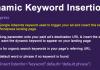 WordPress Dynamic Keyword Insertion v5.1