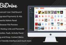 BeDrive v2.0.8 - File Sharing and Cloud Storage