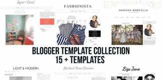 CreativeMarket - Blogger Blogspot Template Collection 1592932