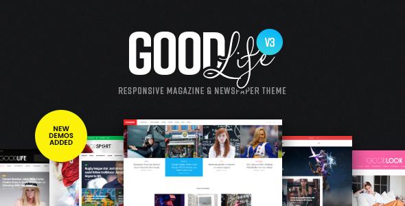 GoodLife - Responsive Magazine Theme v3.2.8