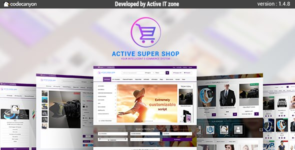 Active Super Shop v1 4 8 - Multi-vendor CMS | PHP Scripts