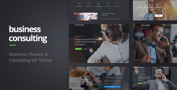 Business Consulting v1.1.6 - Coaching, Business Training & Consulting WordPress Theme