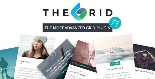 The Grid – Responsive WordPress Grid Builder v2.6.20