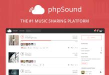 phpSound v4.3.0 - Music Sharing Platform