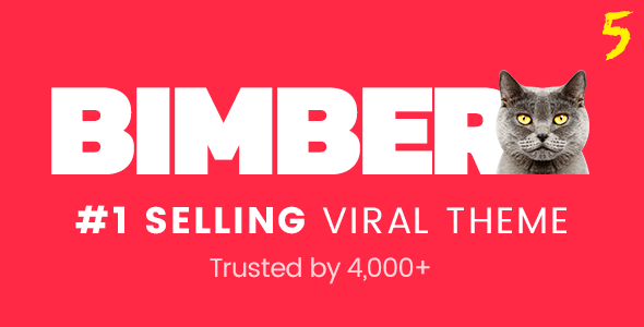 Bimber v5.4.2 - Viral & Buzz WordPress Theme