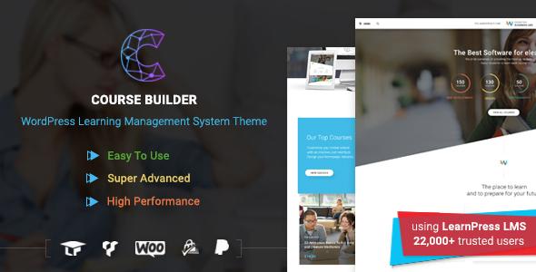 Course Builder v2.3.4 - LMS Theme for Online Courses