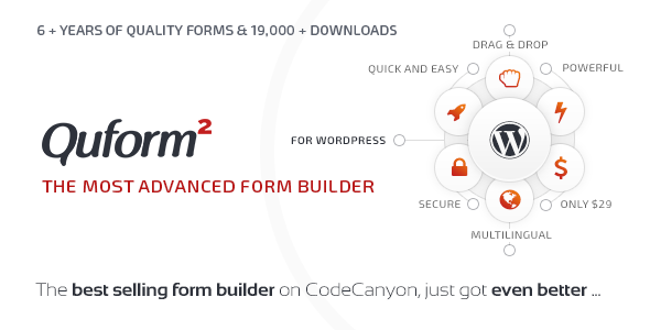 Quform v2.4.1 - WordPress Form Builder