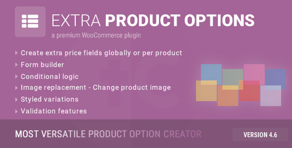 WooCommerce Extra Product Options v4.6.6.1