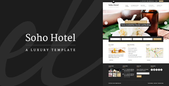 Soho Hotel - Responsive Hotel Booking WP Theme v2.2
