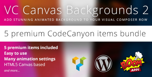 VC Canvas Backgrounds Bundle 2 v1 0 0 | CodeCanyon