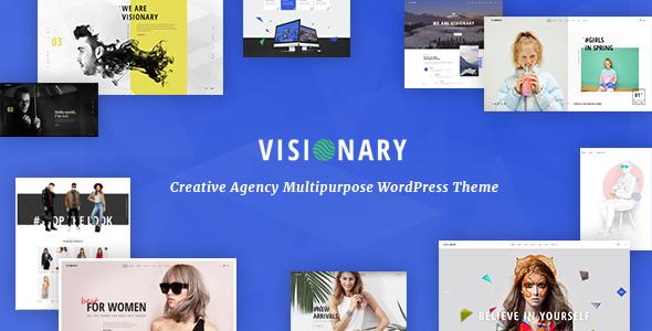 Visionary v1.4.3 - Creative Agency Multipurpose WordPress Theme