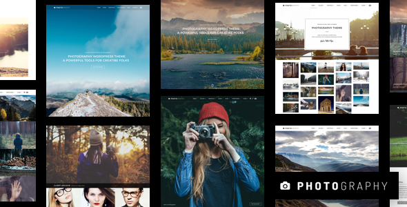 Photography v5.5.1 - Responsive Photography Theme