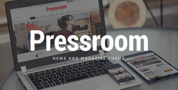 Pressroom v3.8 - News and Magazine WordPress Theme