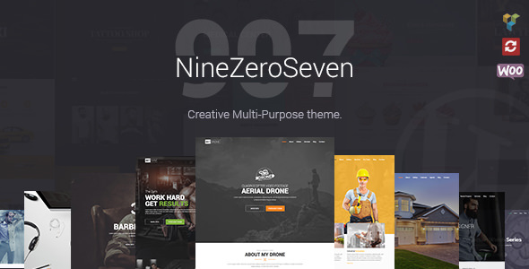907 - Responsive WP One Page Parallax v4.1.3