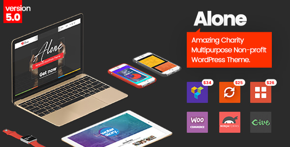 Alone - Charity Multipurpose Non-profit WordPress Theme v5.0.8